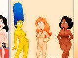Las maduritas más viciosas de los dibujos animados XXX